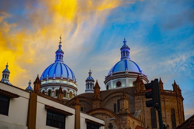 cattedrale di cuenca bacino ecuador