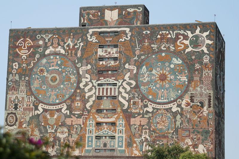 Biblioteca Centrale UNAM di Città del Messico, Messico