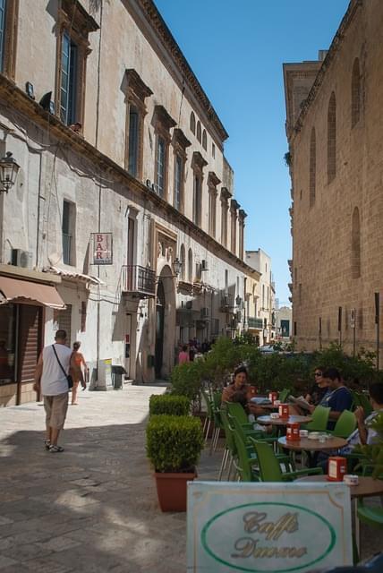 centro storico gallipoli