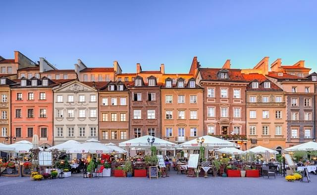 centro storico varsavia