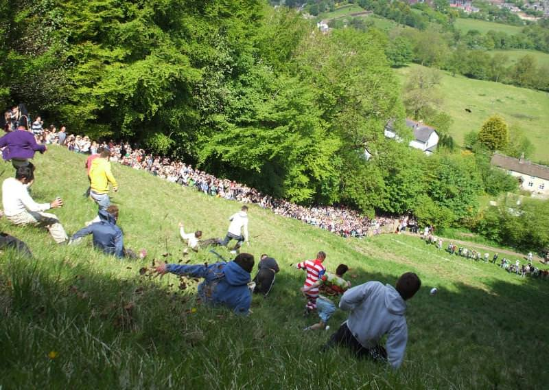 Cheese Rolling, Brockworth