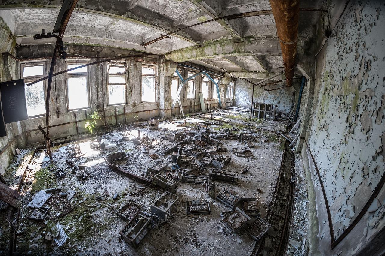 pripyat ieri e oggi