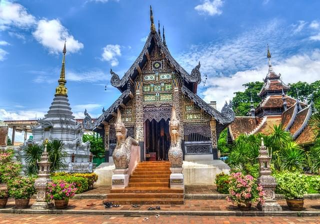 chiang mai thailandia tempio