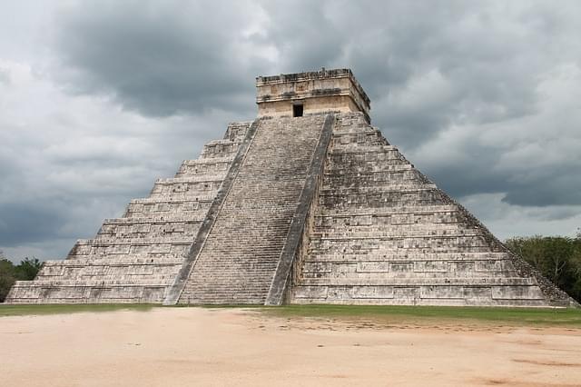 Piramide di Chicen Itza