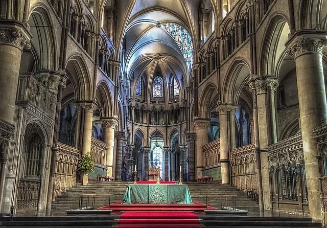 chiesa cattedrale di canterbury