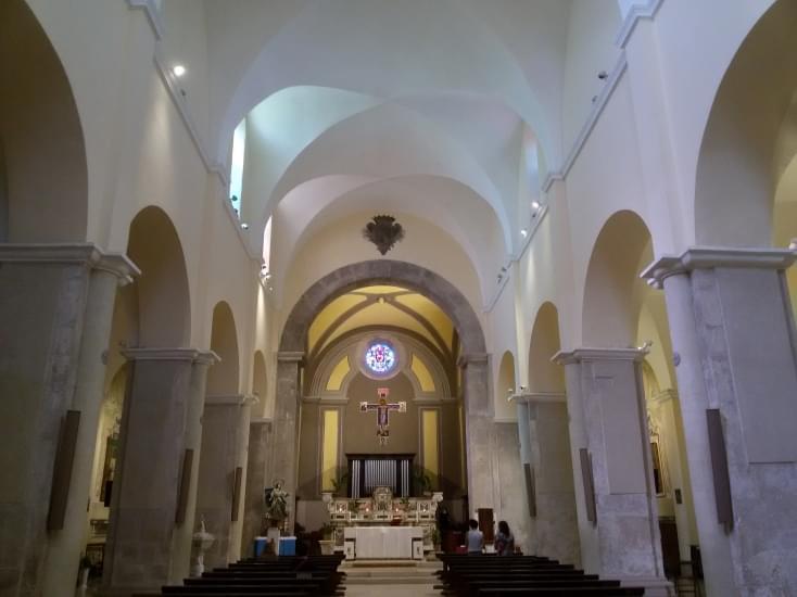 chiesa di sant erasmo formia interno