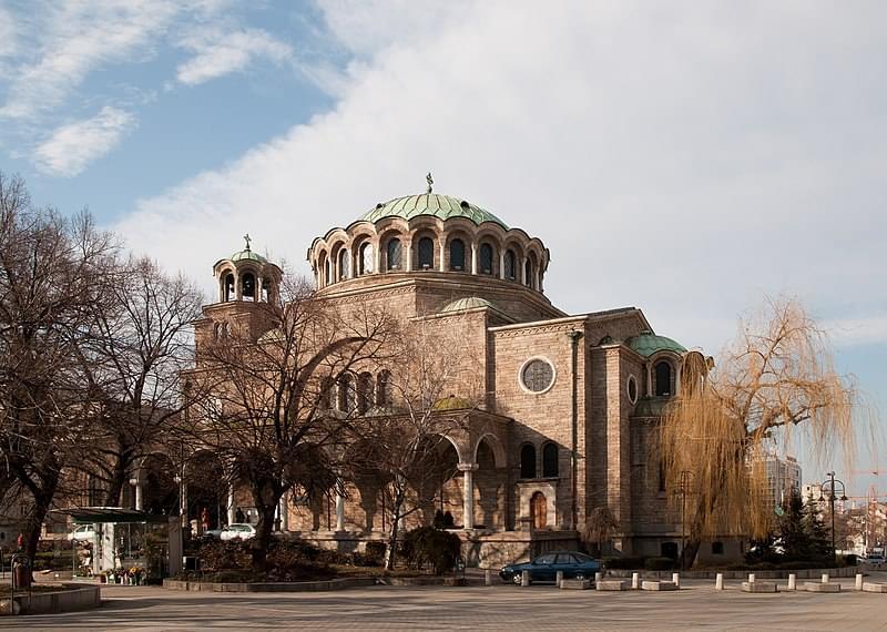 immancabile la visita alla chiesa di sveta nedelya