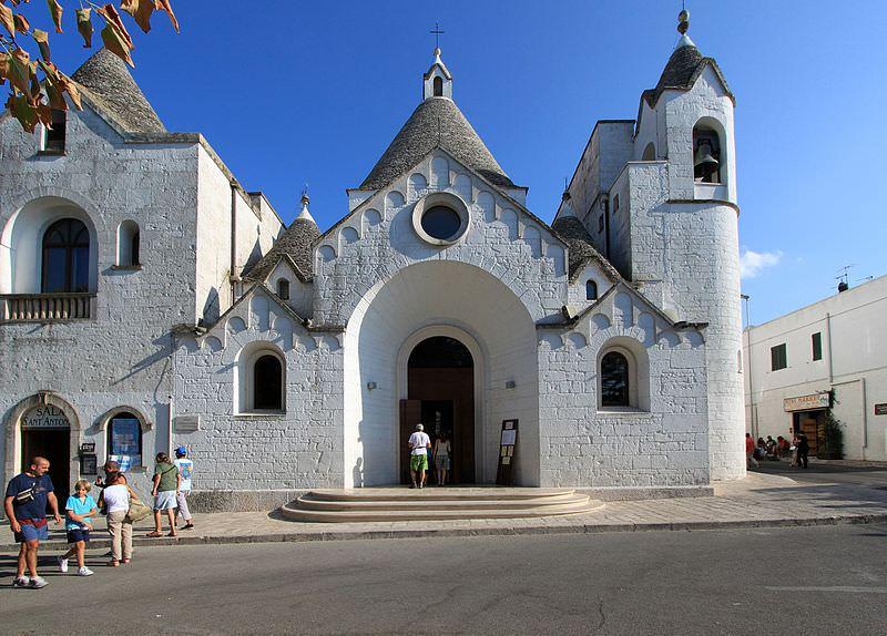 parrocchia di sant antonio di padova alberobello