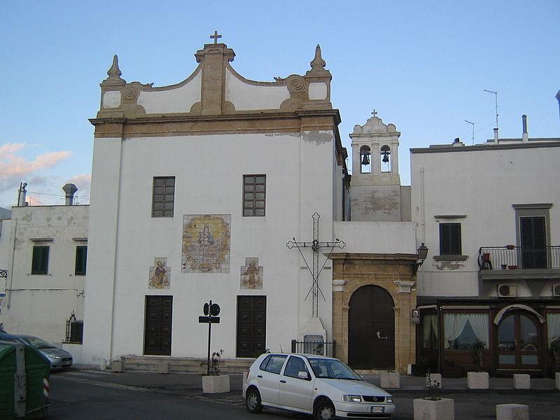 chiesa di santa maria della purita gallipoli
