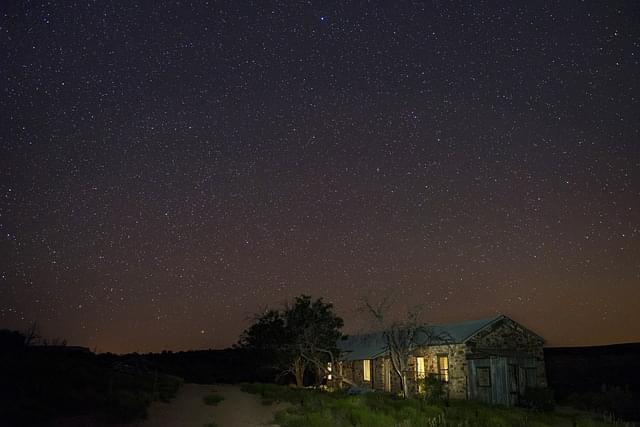 cielo di notte via lattea