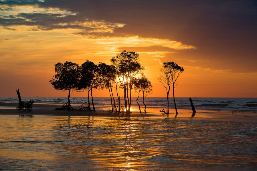 tramonto a darwin