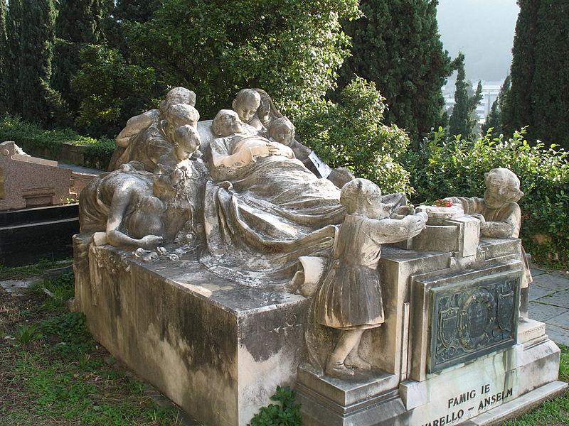 18 cimitero monumentale di staglieno