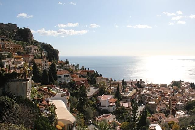 citta taormina sicilia vista 1