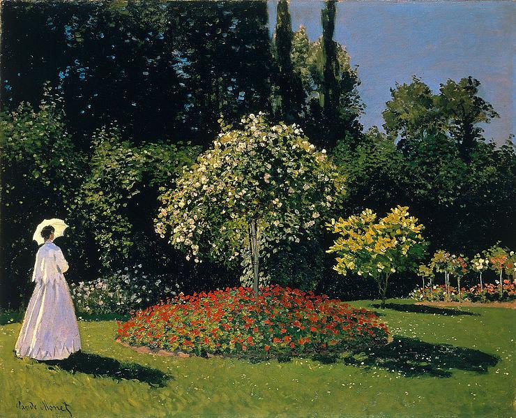 Signora in Giardino a Sainte-Adresse, Monet