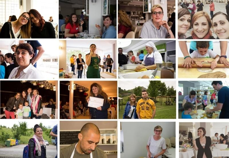 Collage persone