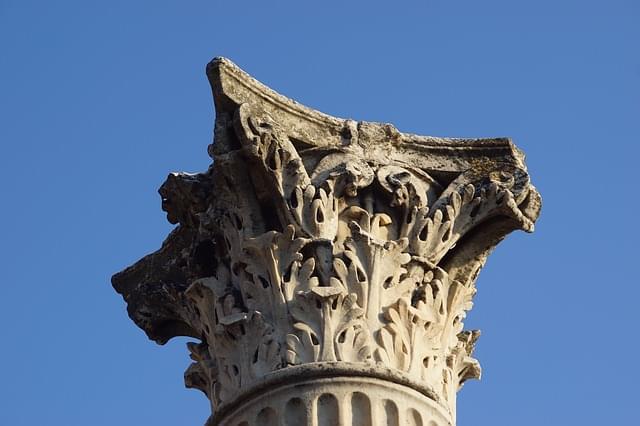 colonne romane a teramo