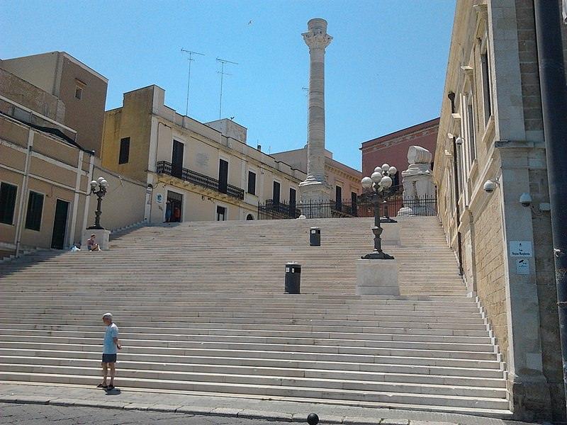 colonne romane brindisi