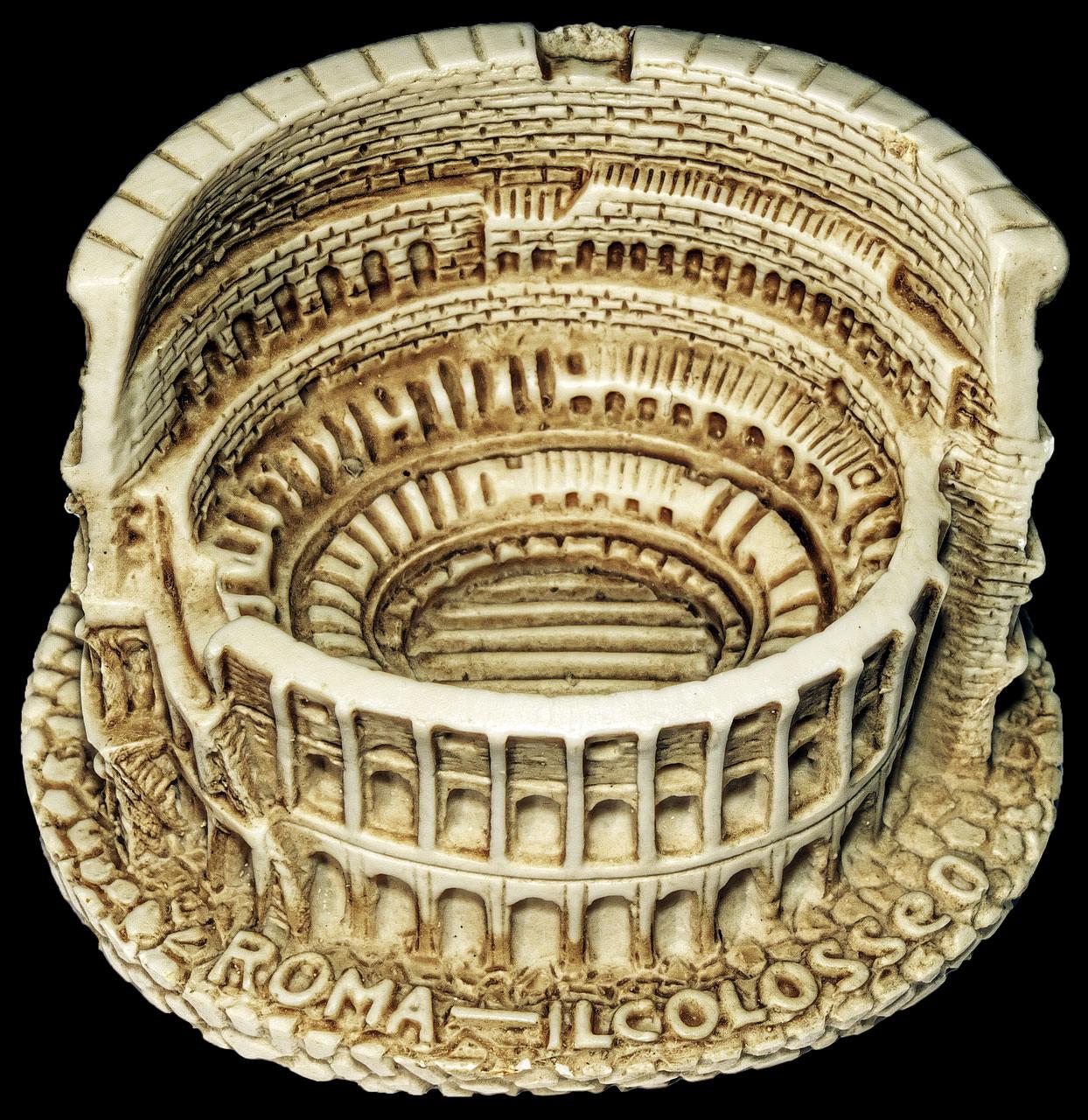 colosseo souvenir roma italia