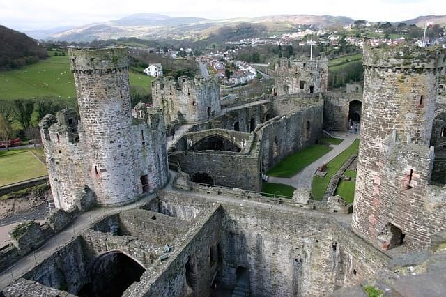 conwy castello medievale