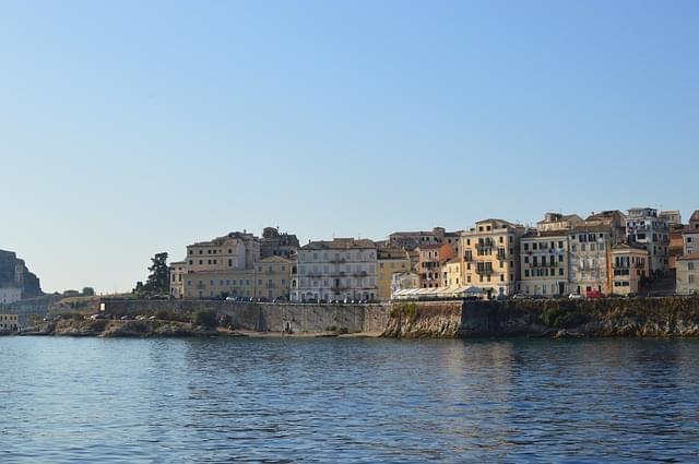 corfu citta vecchia grecia