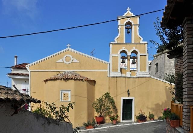 corfu pelekas chiesetta
