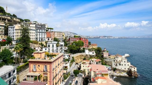 Costa di Napoli vista dall'alto