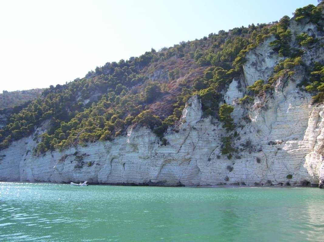 Spiaggia Cala lunga di Peschici