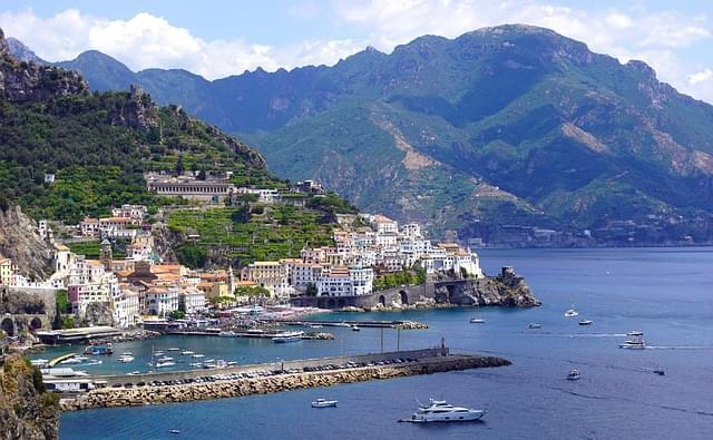 Panorama della Costa di Amalfi
