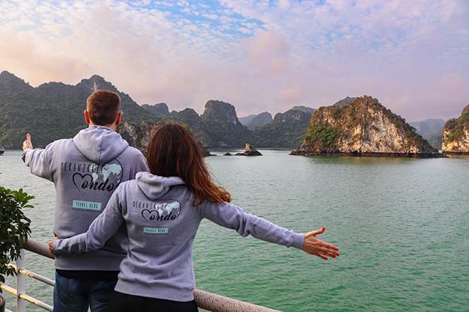 crociera halong bay meraviglie del mondo