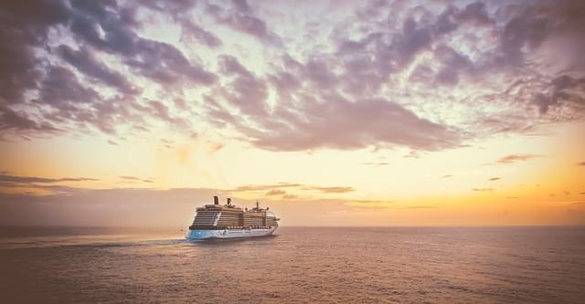 crociera nave tramonto viaggio
