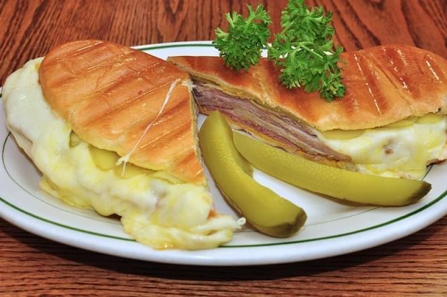 cuban sandwich panino