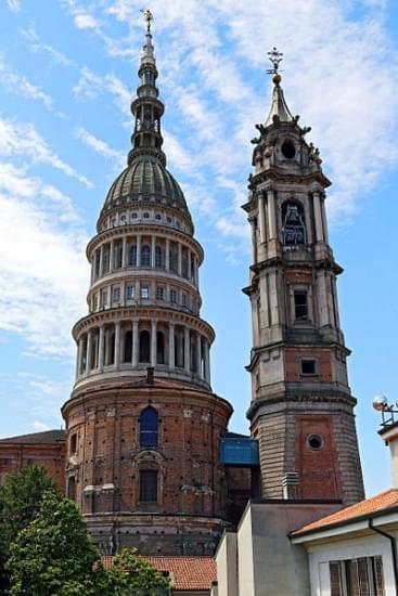 cupola e campanile di san gaudenzio novara