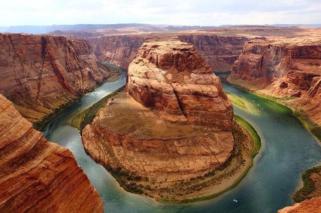 curva a ferro di cavallo grand canyon 1