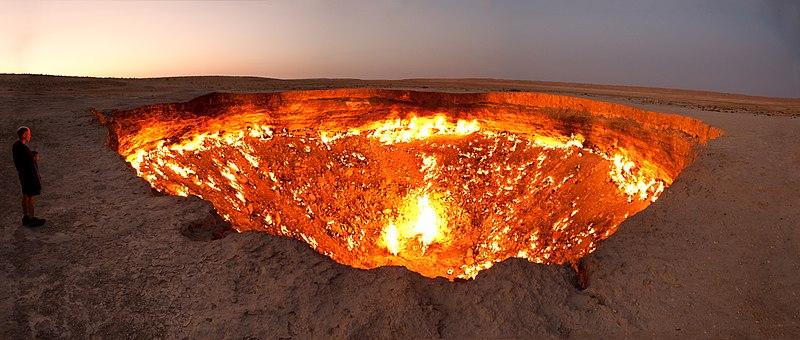 la porta dell'inferno turmenistan