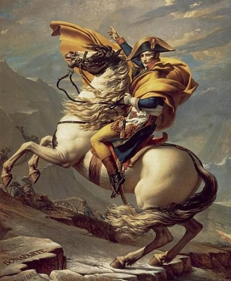 napoleone al passo del gran san bernardo