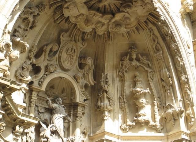 dettaglio basilica santa maria del coro
