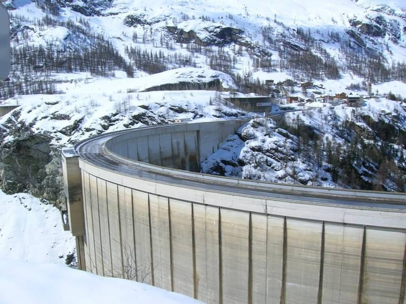 La diga di Tignes