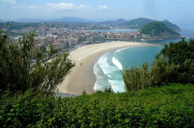 donostia san sebastian playa de zurriola