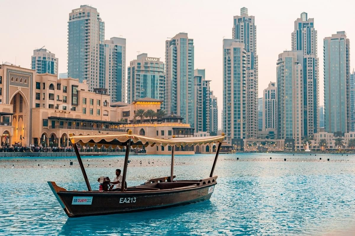 downtown dubai uae turismo citta 1
