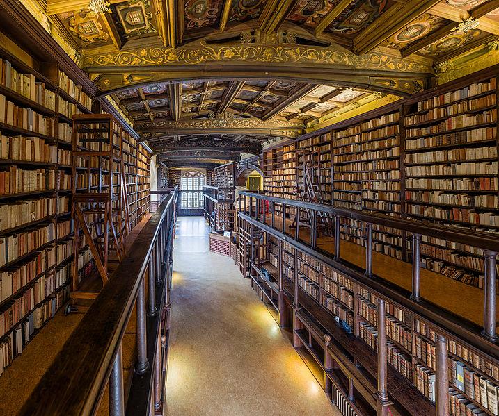Bodleian Library di Oxford, Regno Unito
