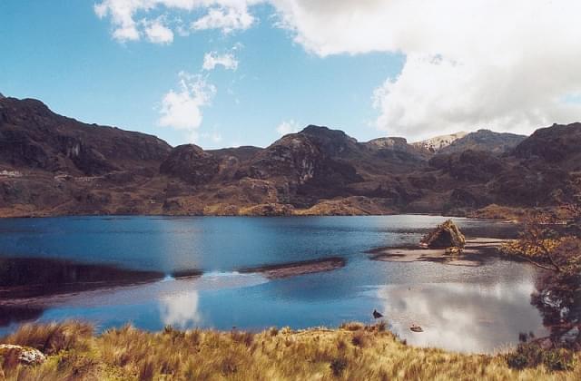 ecuador cajas national park