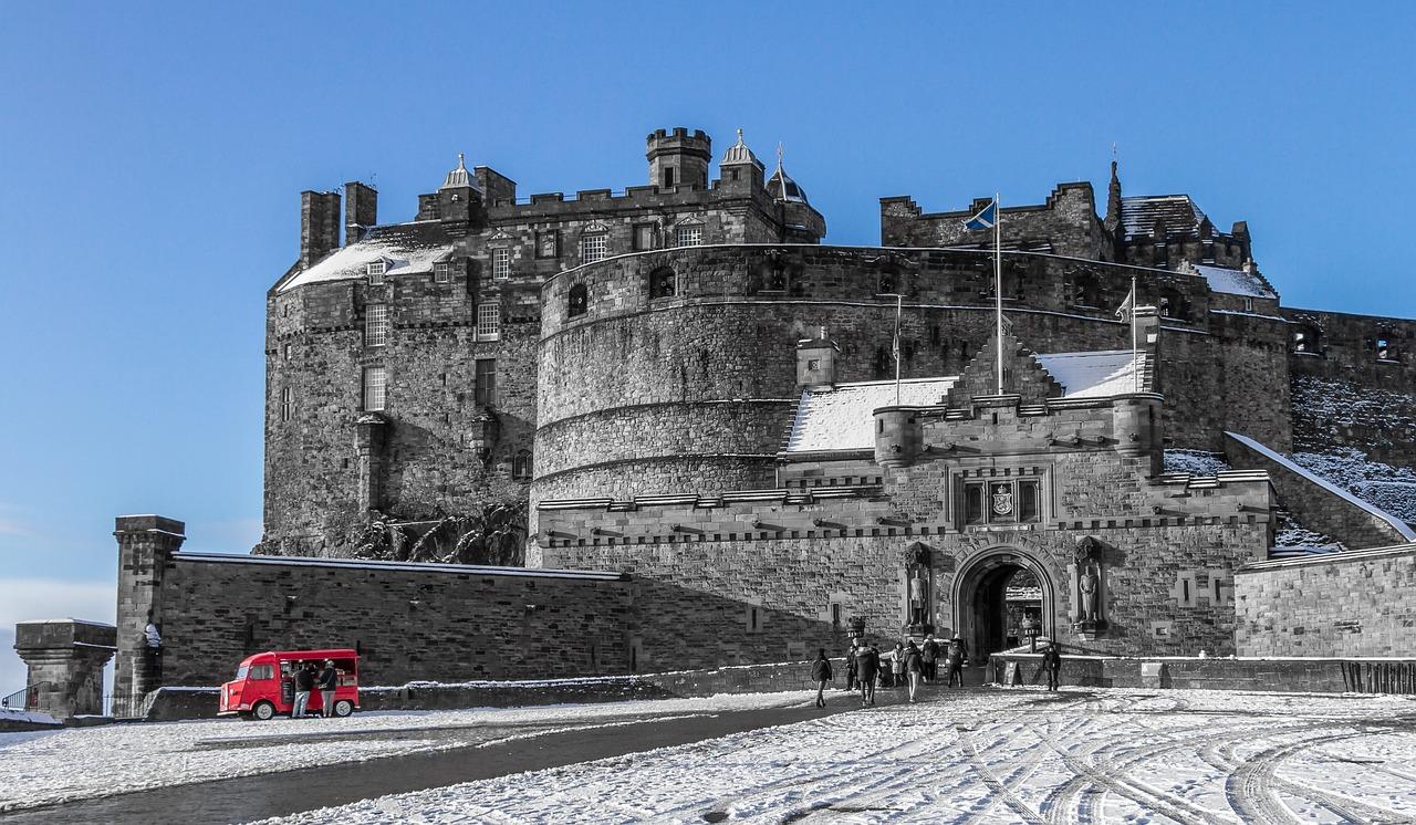 castello dei fantasmi di edimburgo