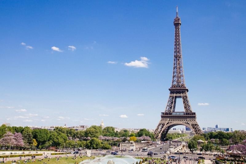Eiffel tower parigi