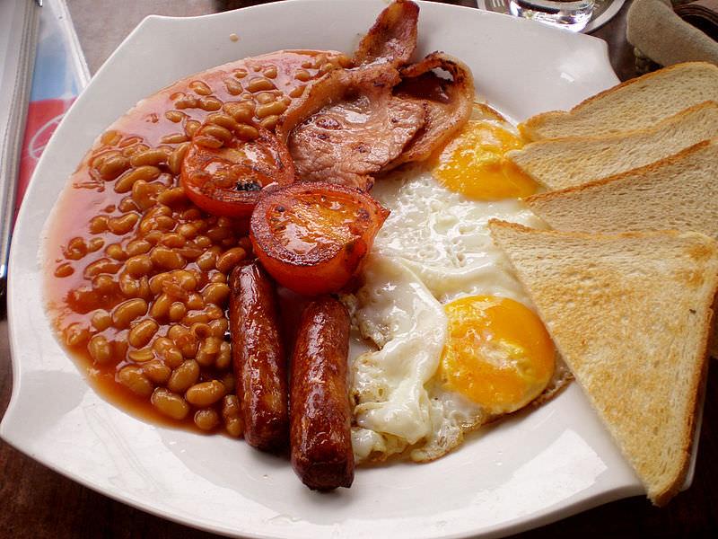 breakfast eggs and bacon cambridge
