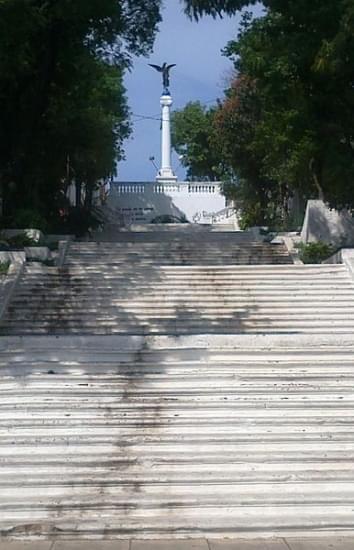escalinata de antequera asuncion paraguay