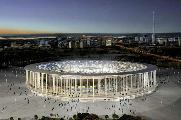 Stadio nazionale brasilia mondiali 2014
