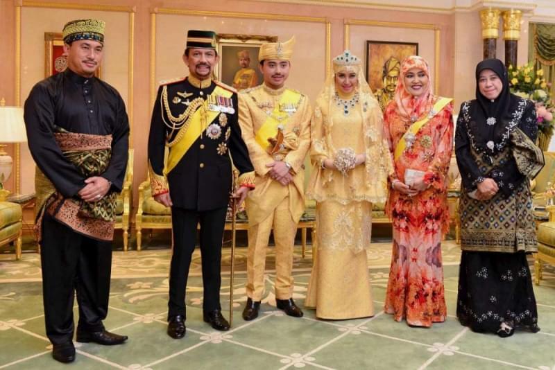 famiglia reale brunei