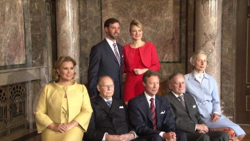 famiglia reale lussemburgo