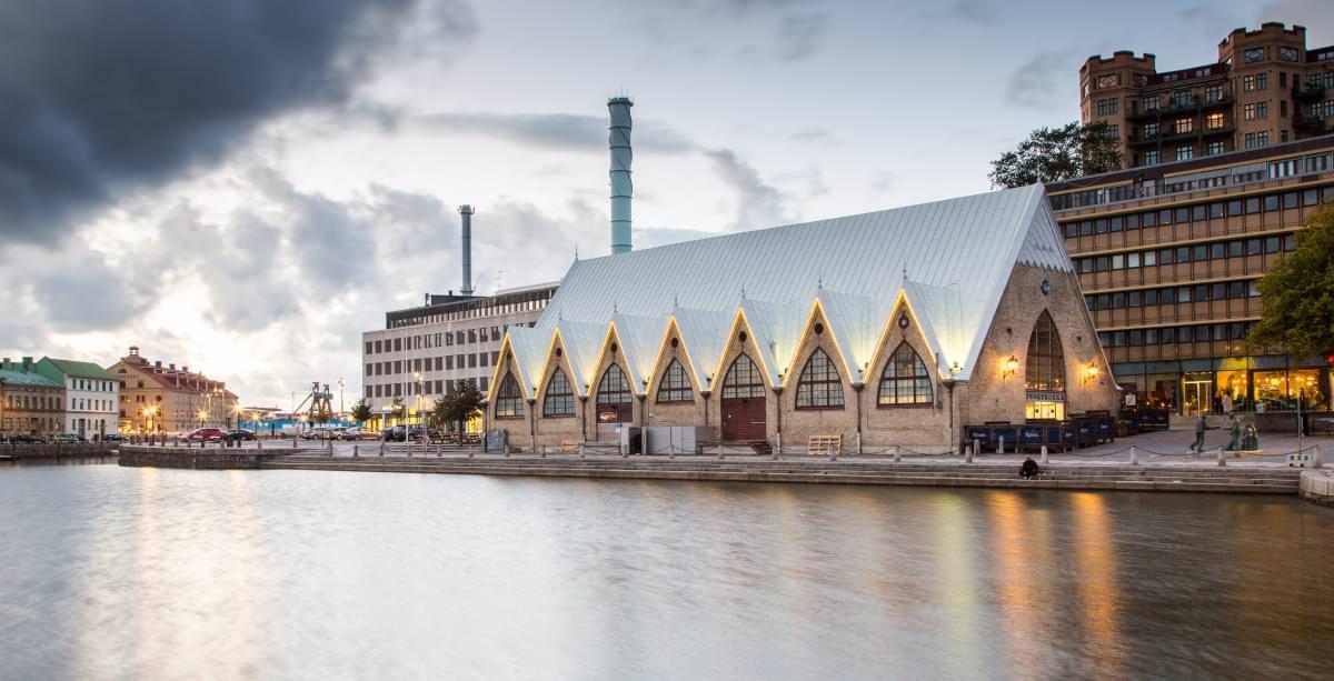 feskekorka mercato pesce goteborg svezia