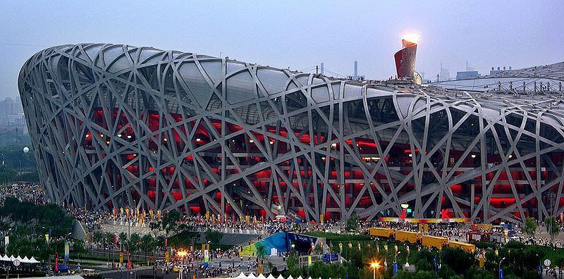 Lo stadio Olimpico di Pechino